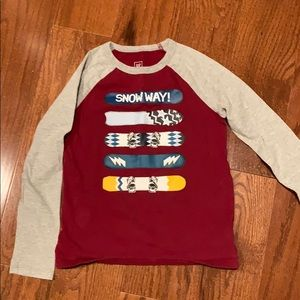 GAP long sleeve t shirt for boys